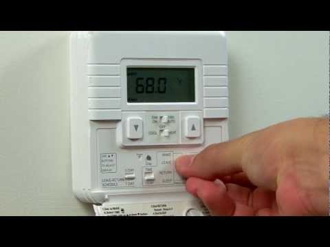Home Energy Efficiency: Programmable Thermostats