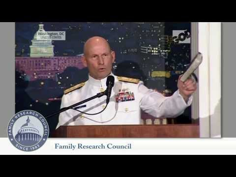 Rear Admiral Lee Addresses Restrictive Regulations on Religious Liberty