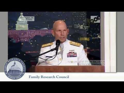 Rear Admiral Will Share The Bible, No Matter What