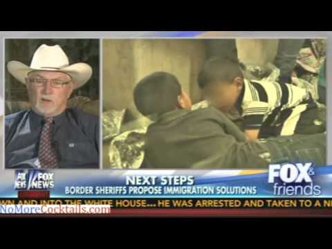 """Coalition of Sheriffs says Border Crisis is """"spiraling out of control"""""""