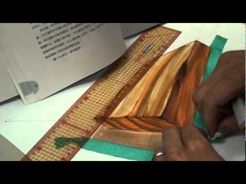韓玉青老師示範麥克筆材質上彩創意表現技法(創意開發與設計素描課)