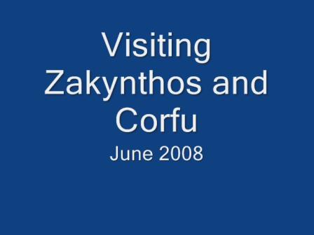 Zakynthos and Corfu 2008