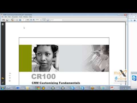 SAP CRM Online Training | Free Demo video Classes