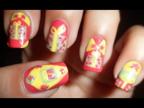 Cute Gift Boxes - Birthday Party Nails