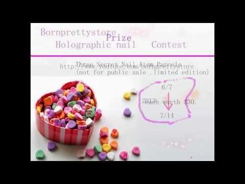Bornprettystore Holographic Nail Contest