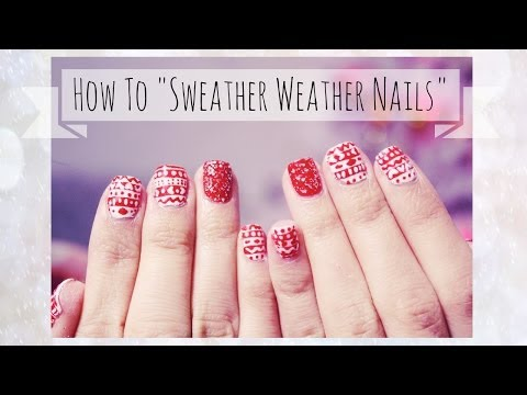 How To: Sweater Weather Nails