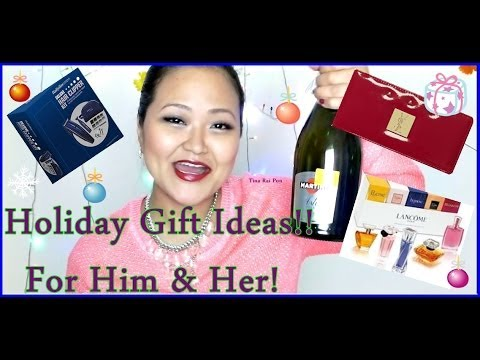 Holiday Gift Ideas - For Men & Women !!
