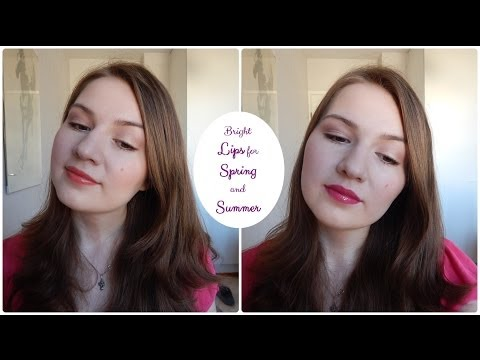 Makeup Tutorial: Bright Lips for Spring and Summer