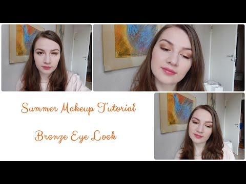 Summer Makeup Tutorial: Bronze Eye Look
