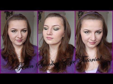 Easy Green Smokey Eyes Tutorial // Using affordable Makeup