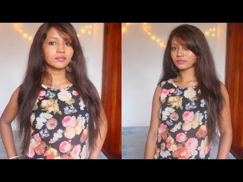 How I Flat Iron My Hair & Blend With Irresistible Me Hair Extensions