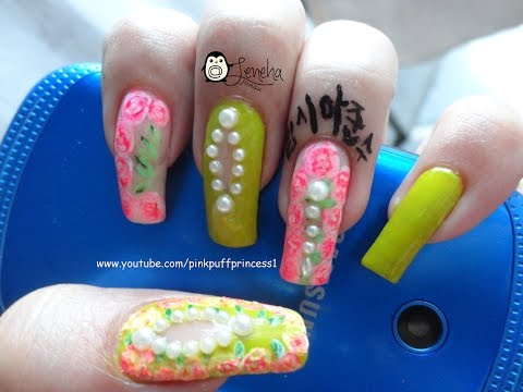 Easy Floral Cut Out Nail Art Tutorial