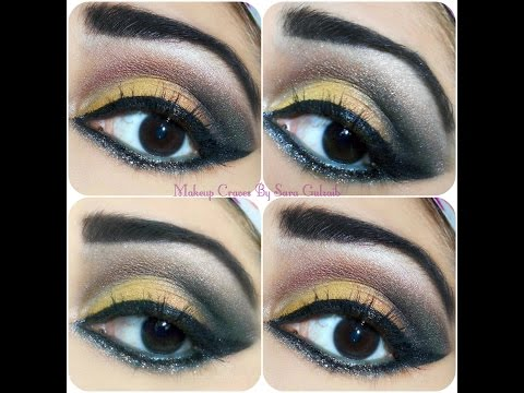 Party Eye Look with the hint of Glitter