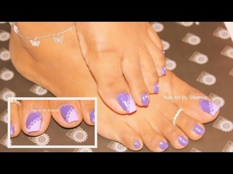Easy Toe Nail Design Tutorial