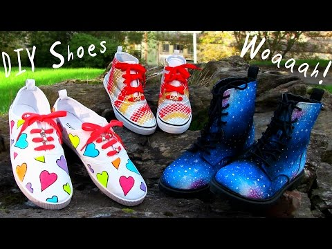 3 Awesome Ways to Decorate Shoes!