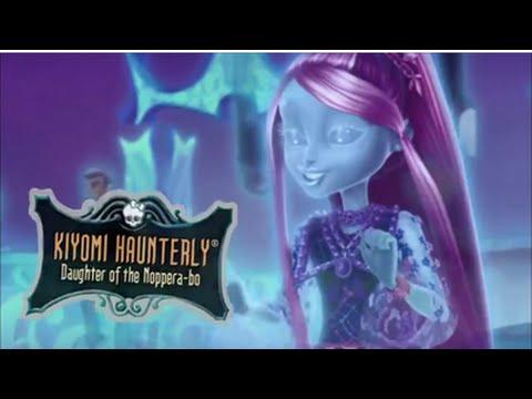 Monster High Kiyomi Haunterly Makeup Tutorial