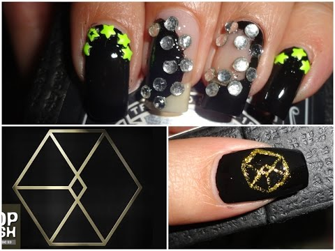 KPOP Nails: EXO 엑소 CALL ME BABY