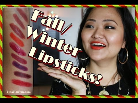 Trendy Drugstore #Lipsticks for Fall/Winter - Tina Rai Pun