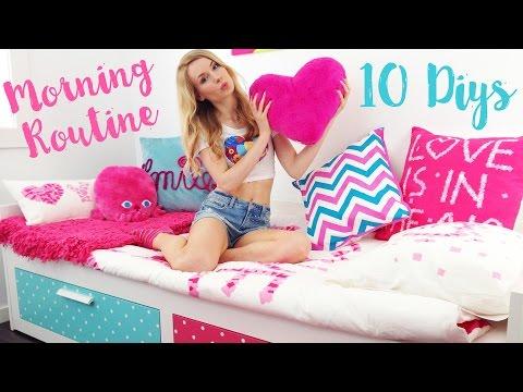 Morning Routine (10 DIY Ideas, Makeup, Healthy Recipes)