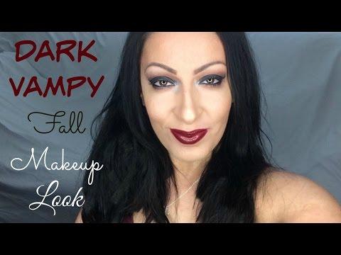 Dark Vampy | Fall Makeup Look + Talk Thru