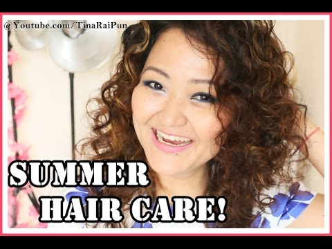 HAIR CARE Easy DIY Home Tips.. Natural Summer Beauty I Tina Rai Pun