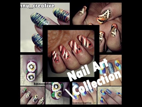 Favourite Nail Arts I did so far: Collection   Kanika Sharma  