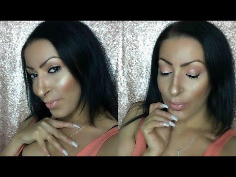 Soft Rose Gold | Spring Makeup Tutorial