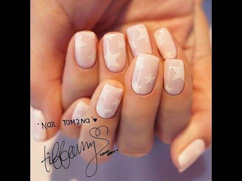 KPOP Nails: Girls' Generation Tiffany 소녀시대 Instagram