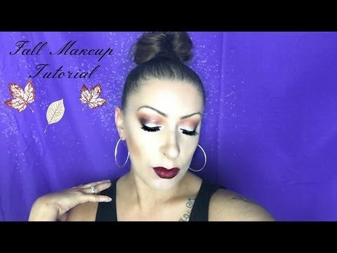 Fall Makeup Tutorial | Deep Dark Lips
