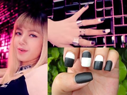 KPOP Nails: BLACKPINK '붐바야'(BOOMBAYAH) Lisa + Giveaway