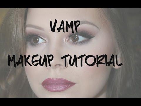 Vamp makeup tutorial