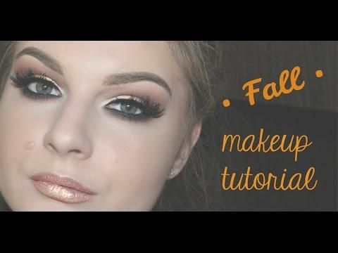 Fall makeup tutorial/Jesenja (vecernja) sminka