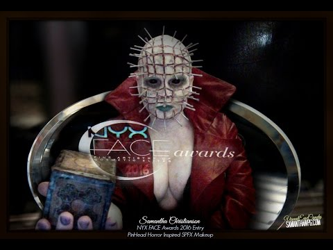 NYX FACE Awards 2016 Entry PinHead Horror Inspired SPFX Makeup