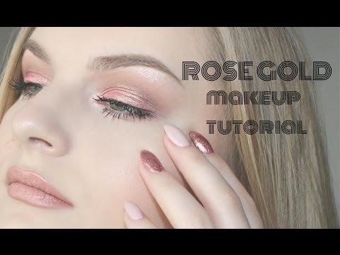 Roze zlato ♥ / Rose Gold makeup
