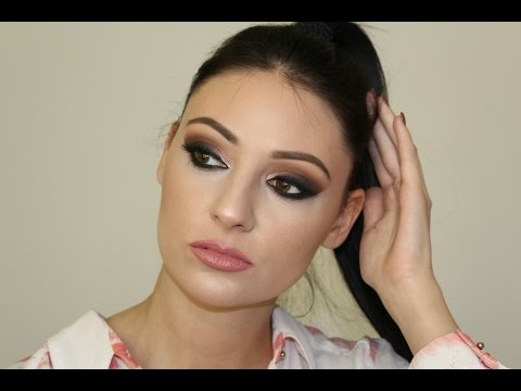 Dramatic Night out makeup / Dramaticna vecernja sminka