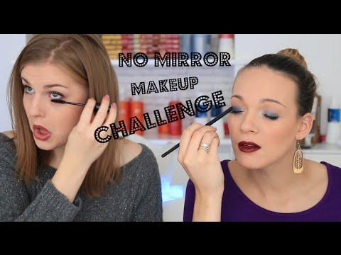 No mirror makeup challenge - Šminkanje bez ogledala ft. Sofija Grijak (Sophie's Choice)