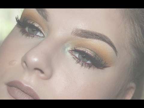 Fall leaves inspired makeup tutorial / Sminka 'Jesenje lisce'