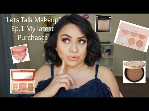 Lets Talk Makeup Ep.1 | My latest Purchases |Nancy G
