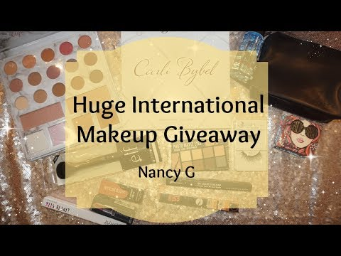 Huge Giveaway | International | NancyG