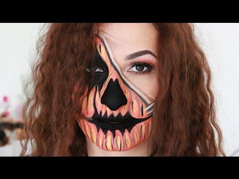 Pumpkin girl / Halloween makeup