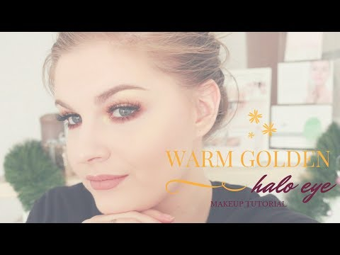 Warm Golden Halo Eye • • •