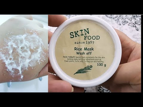 Skinfood Rice Mask Wash Off - KBeauty