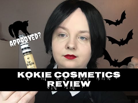 Kokie Cosmetics | Be Bright Illuminating Concealer in Yellow | Review