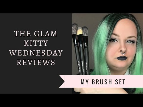 Wednesday Reviews | My Brush Set | 24 Piece Jet Black Makeup Brush Set