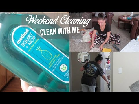After The Weekend | Cleaning Routine | Clean With Me