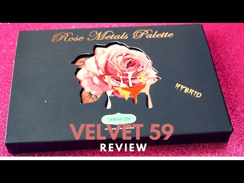Wednesday Reviews | Velvet 59 | Rose Metals Palette