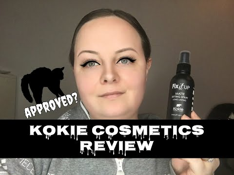 Wednesday Reviews | Kokie Cosmetics | Matte Setting Spray