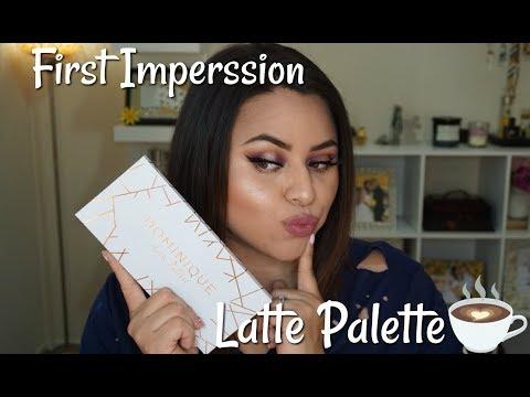 First Impressions| Latte Palette Dominique Cosmetics | Nancy G