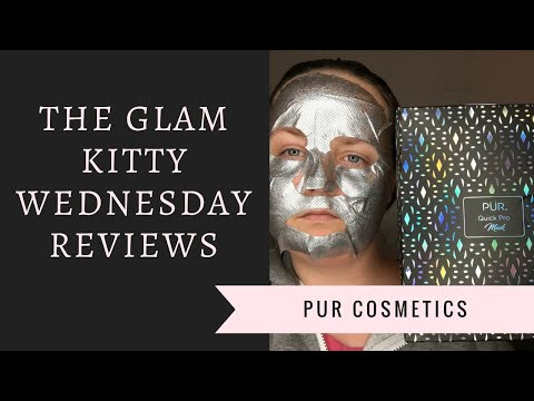 Wednesday Reviews | Pur Cosmetics | Quick Pro Holographic Hydration Mask