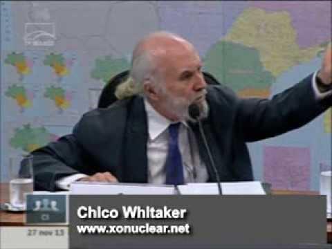 Chico Whitaker alerta para os riscos da energia nuclear-1ª parte